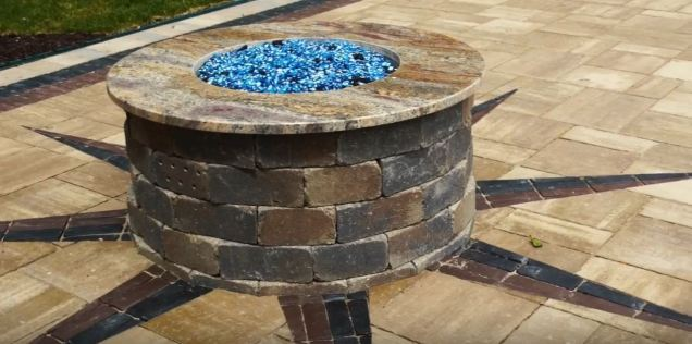 diy outdoor gas fire pits