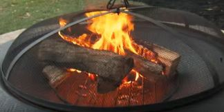 fire pit designs metal