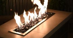 fire pit designs using natural gas