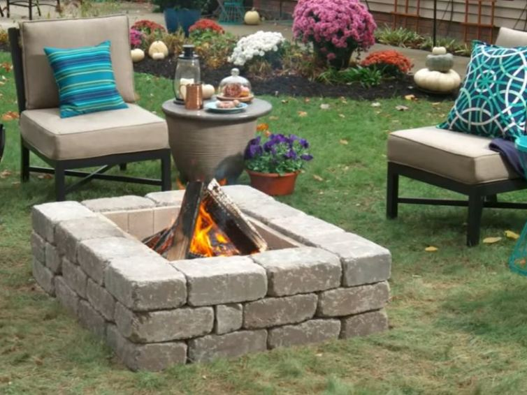 Fire pit as the decoration of your garden