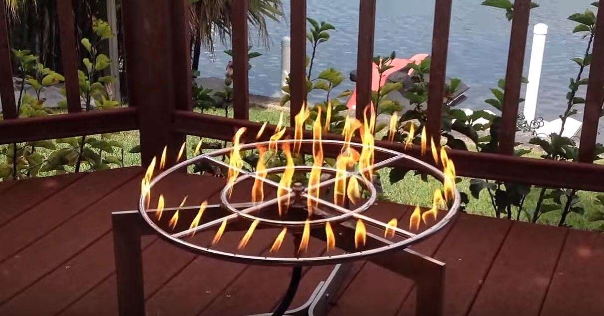 fire pit rings home depot