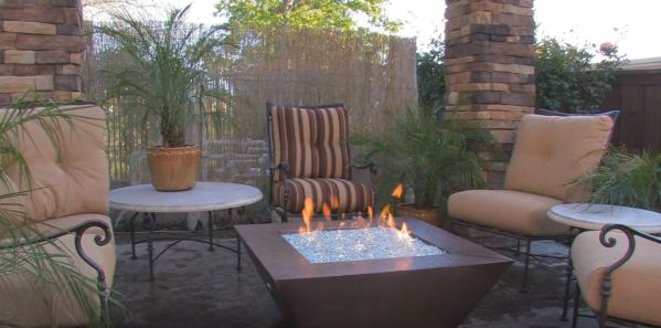 fire pit table sets
