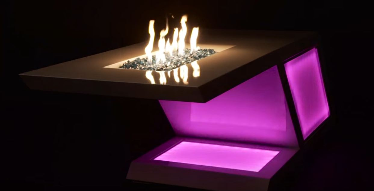 fire pit tables propane