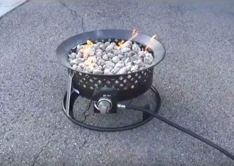 Fire pit as convenient portable fire
