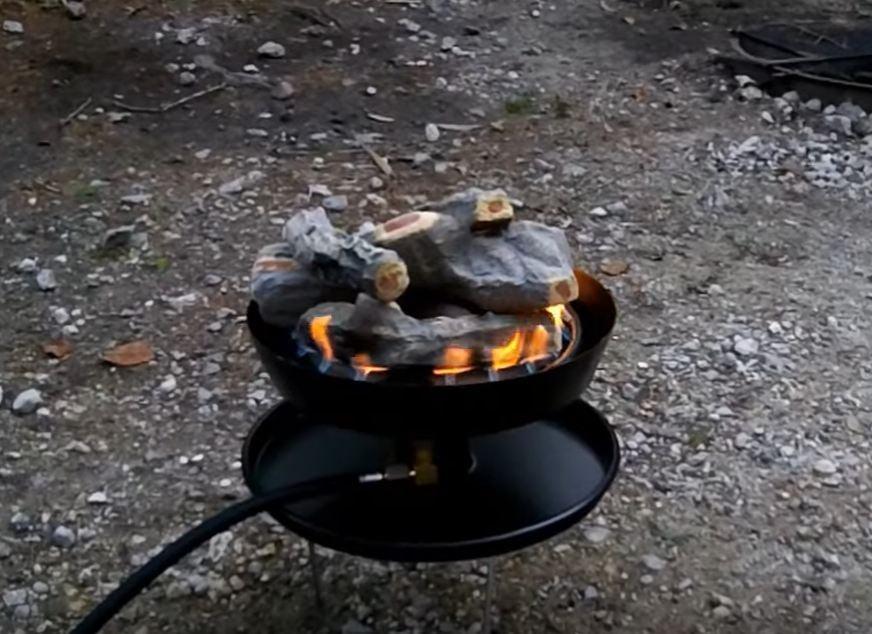 portable fire pit ideas