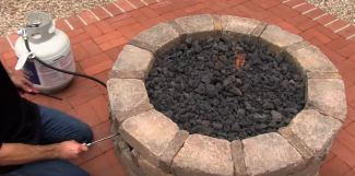 propane fire pits outdoor