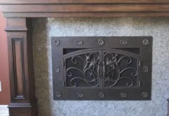 fireplace doors near me