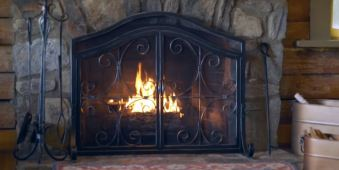 fireplace screens near me
