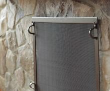 gas fireplace screens