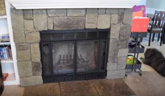 installing fireplace doors
