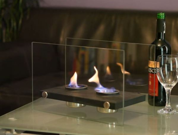 portable fireplace heater