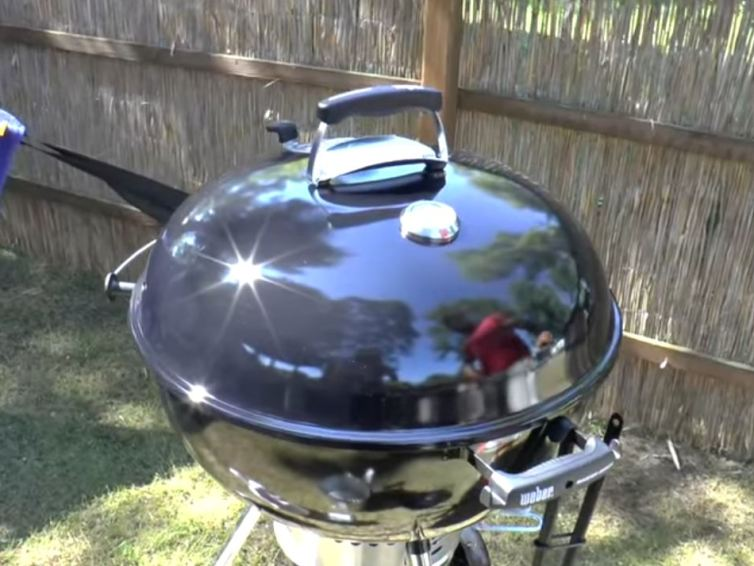Healthy food with Weber Grills