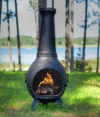 blue rooster cast iron chimineas_14
