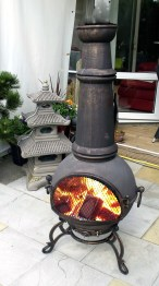 Our Review Of The 5 Best Cast Iron Chimineas regarding Beautiful Best Chiminea Outdoor Fireplace Decorations