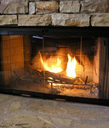 fireplace glass doors amazon_13