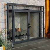 fireplace glass doors Fresh awesome fireplace glass doors How to Measure Fireplace