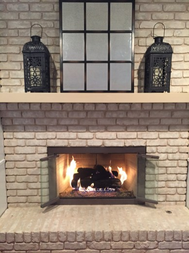 fireplace glass doors open or closed_26