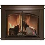 fireplace glass doors sale_6