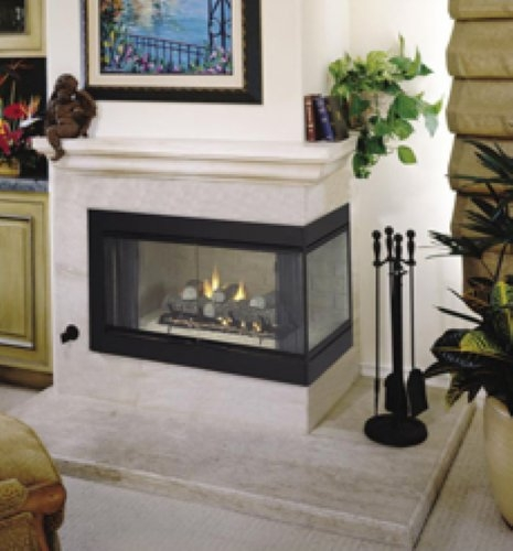 Vantage Hearth B Vent Gas Corner Fireplace