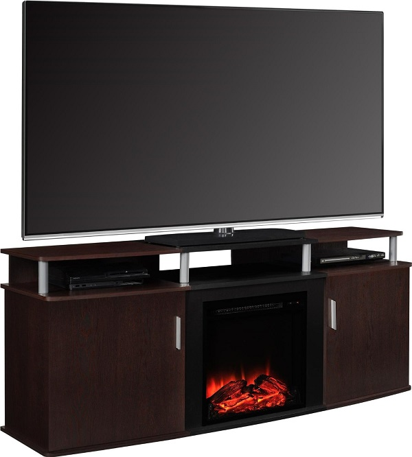 Altra Furniture Carson Fireplace Tv Console Review