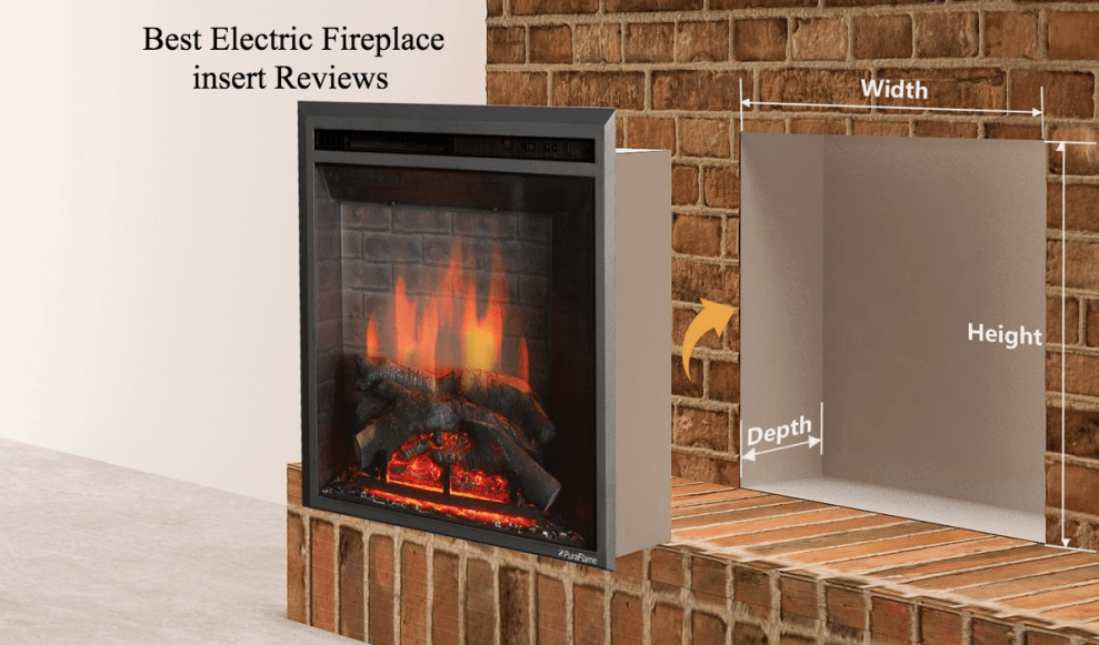 Best electric fireplace insert aug 2018 top 10 reviews and guide best electric fireplace insert reviews 2017 solutioingenieria Image collections