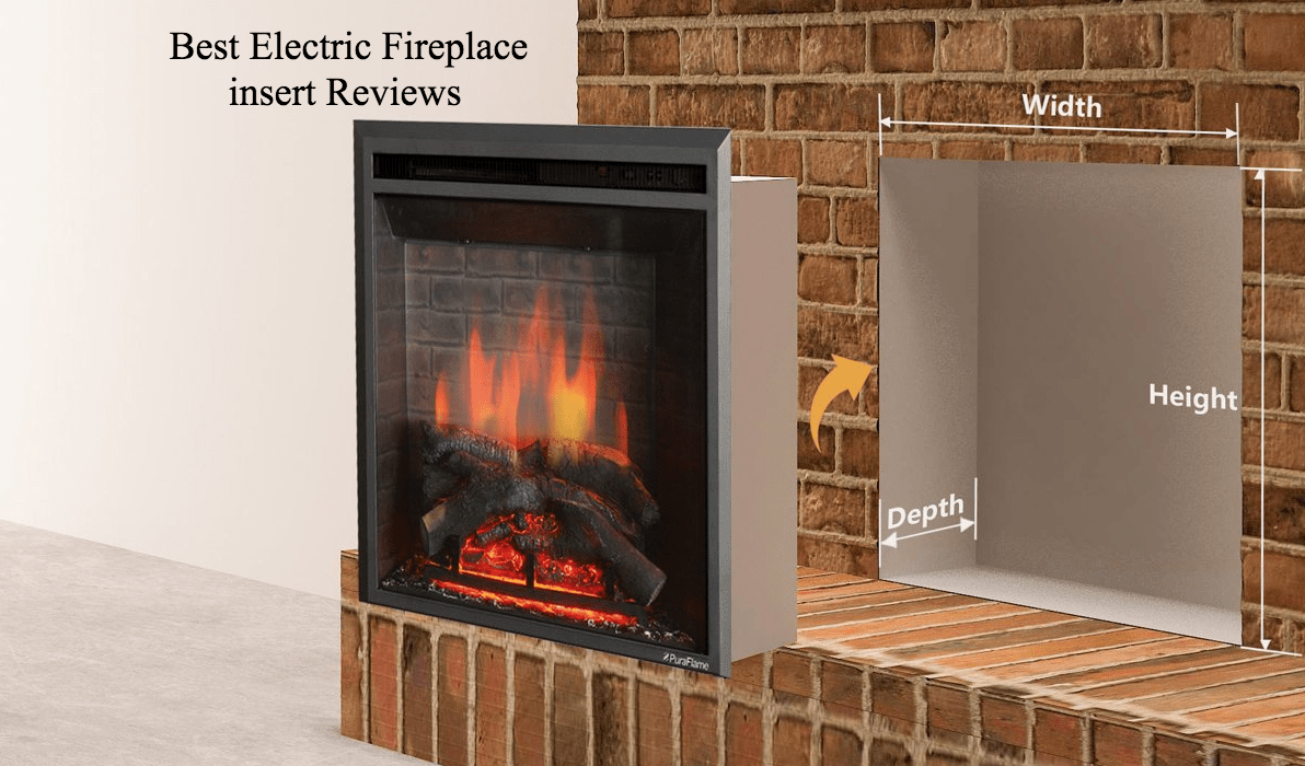 Elegant Best Electric Fireplace Insert Reviews 2017