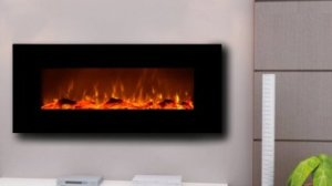 Touchstone 50 Inch Onyx Electric Wall Mounted Fireplace Review