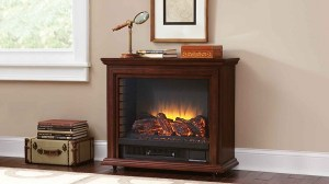 Pleasant Hearth GLF-5002-68 Sheridan Mobile Fireplace