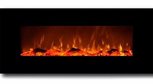"""Moda Flame Houston 50"""" Electric Wall Mounted Fireplace Review"""