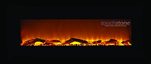 "Touchstone Onyx 50"" Electric Wall Mounted Fireplace-Touchstone Onyx 50"" Electric Wall Mounted Fireplace"