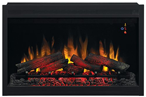 Best electric fireplace insert reviews -Classic Flame 36EB110-GRT Built-in Electric Fireplace Insert 36