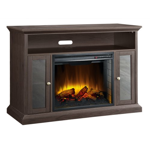 Best Electric Fireplace Tv Stand Reviews Pleasant Hearth 23 Inch Riley  Espresso Media Electric