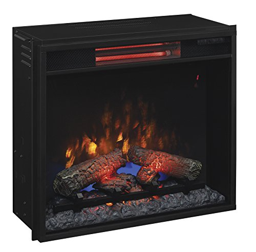 Best electric fireplace insert reviews -Classic Flame 23II310GRA Infrared Quartz Fireplace Insert