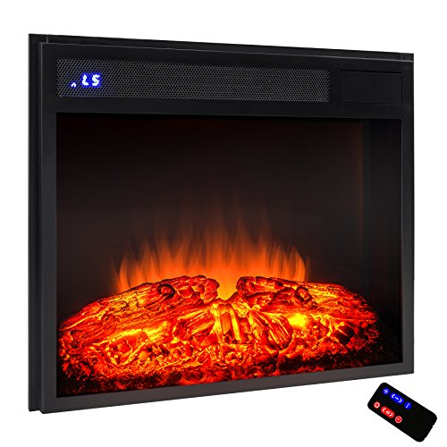 Best electric fireplace insert reviews -AKDY Azfl-EF05-23r Electric Firebox Fireplace Heater Insert - 23