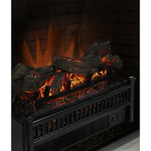 Best Electric Fireplace Insert Reviews  Pleasant Hearth LH 24 Electric Log  Insert With Heater  Fireplace Heater Insert