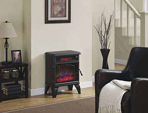 Best Electric fireplace stove reviews -Duraflame DFI-550-0 Mason Freestanding Infrared Quartz Fireplace Stove