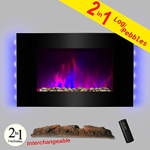 12 Best Wall Mount Electric Fireplace Reviews July 2018