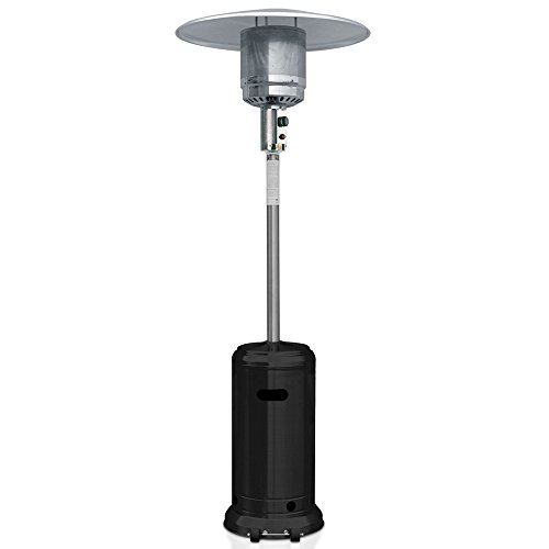 Best Patio Heater reviews 2017 - Garden Sun GS4400BK Floor Standing 41,000 BTU Propane Powered Patio Heater