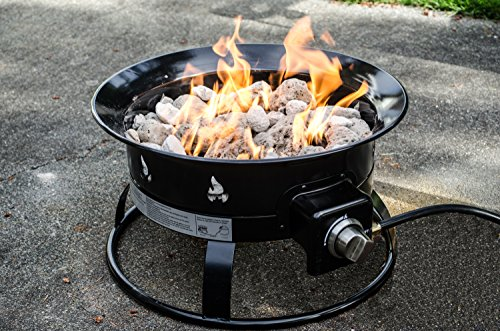 Best fire pit review - Heininger 5995 Portable Propane Outdoor Fire Pit