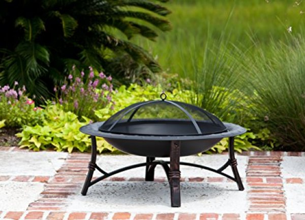 Best fire pit reviews - Fire Sense Roman Fire Pit