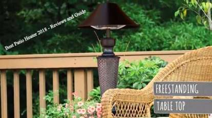 Best Patio Heater 2018 - Reviews and Guide