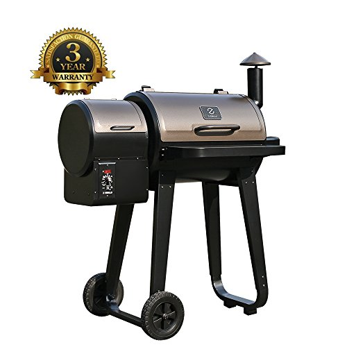 Best Pellet Smoker 2017: Z GRILLS Wood Pellet BBQ Grill and Smoker with Digital Temperature Controls