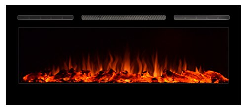 Touchstone 80004 Sideline Review - Key Features of the Touchstone 80004 Sideline In-Wall Recessed Electric Fireplace