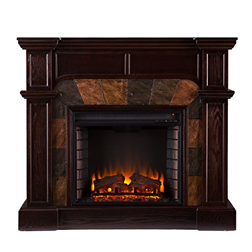 Compare With  SEI Cartwright Convertible Electric Fireplace VS. Altra Ameriwood Home Chicago Fireplace TV Console