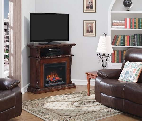 ClassicFlame 23DE1447-C233 Corinth Wall or Corner TV Stand Review