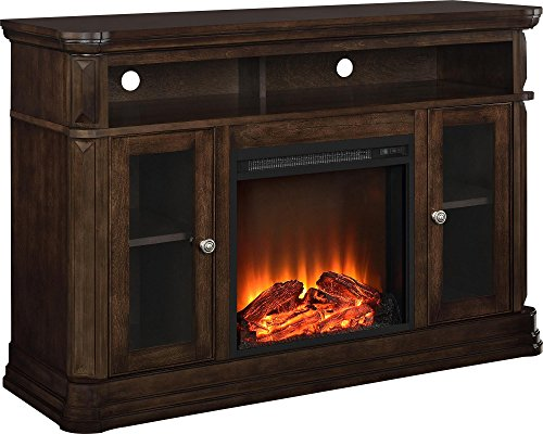 Ameriwood Brooklyn Electric Fireplace TV Console Review - Key features of the Ameriwood Brooklyn Electric Fireplace TV Console[/su_heading]