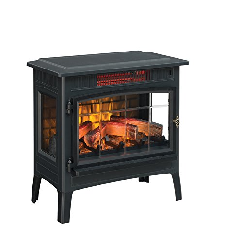 Comparison of Duraflame DFI-5010-01 Stove VS. Regal Curved Free Standing Electric Fireplace Stove