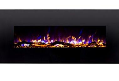 Regal Flame Ashford Ventless wall mounted electric fireplace