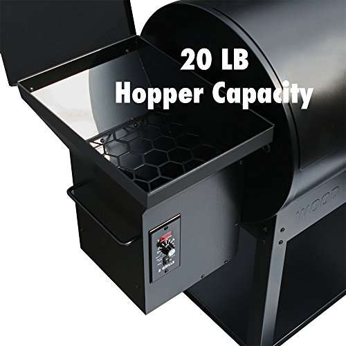 Z-grills (ZPG-7002) Wood Pellet BBQ Grill and Smoker Review