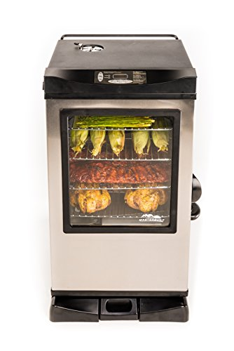 best electric smoker under $200 - $1000 - Masterbuilt 20078715 Electric Digital Smoker Front Controller 30""